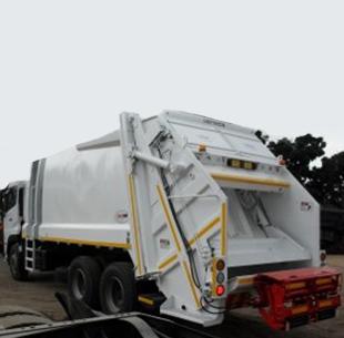 waste management trucks