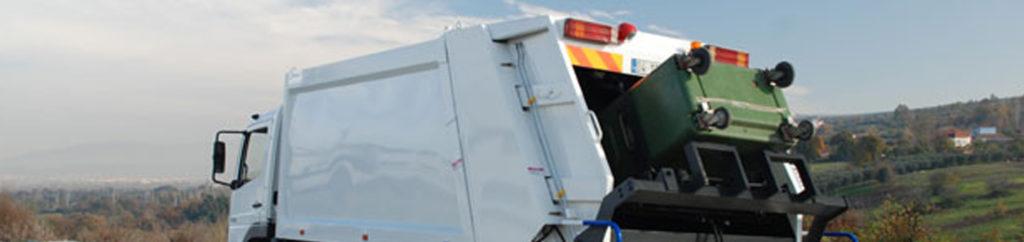 waste compactor trucks